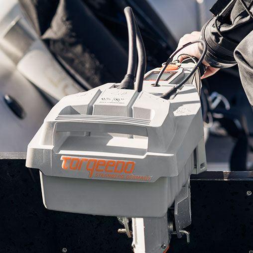 Лодочный электромотор, Torqeedo, Travel, 503s, 503, крепление на транец