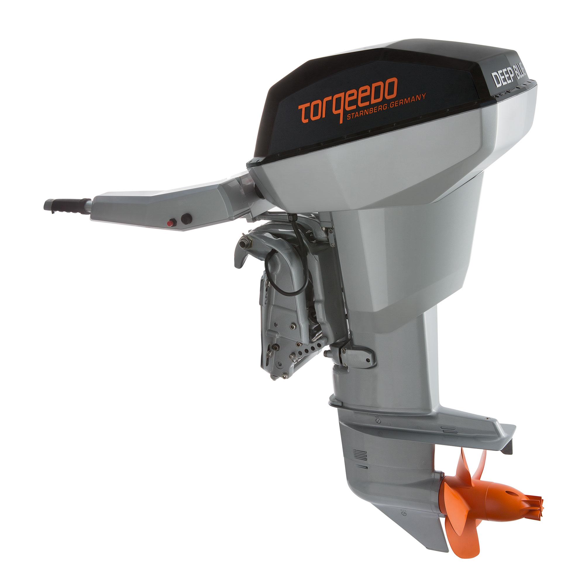 Лодочный электромотор, Torqeedo, Deep Blue, 80.0 TXL, 80.0, крепление на транец