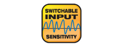 Switchable Input Sensitivity
