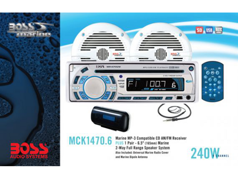 BOSS Audio Marine MCK1470.6, BOSS Marine MCK1470.6, BOSS Audio Systems MCK1470.6, BOSS Audio MCK1470.6, BOSS MCK1470.6, MCK1470.6, морская магнитола, BOSS Audio Systems, BOSS Audio, BOSS Marine, магнитола BOSS Marine, морская магнитола BOSS