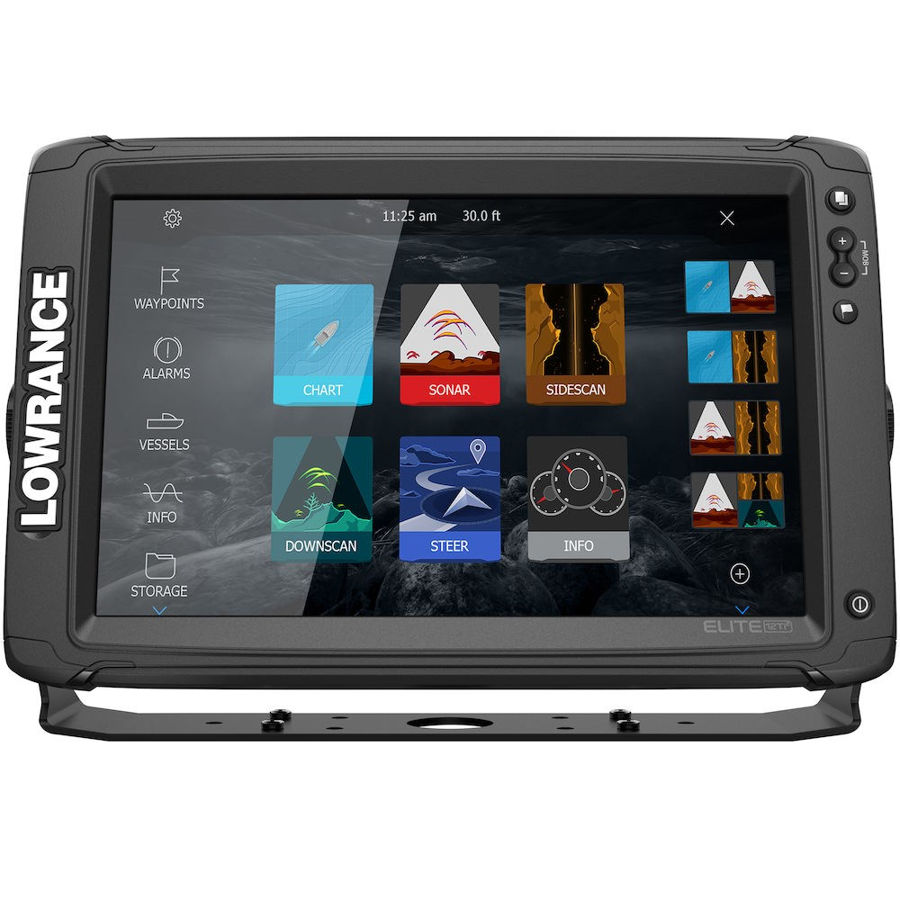 Lowrance ELITE-12 Ti² Active Imaging 3-in-1™, ELITE-12 Ti², эхолот Lowrance ELITE-12 Ti², картплоттер Lowrance ELITE-12 Ti², картплоттер Lowrance