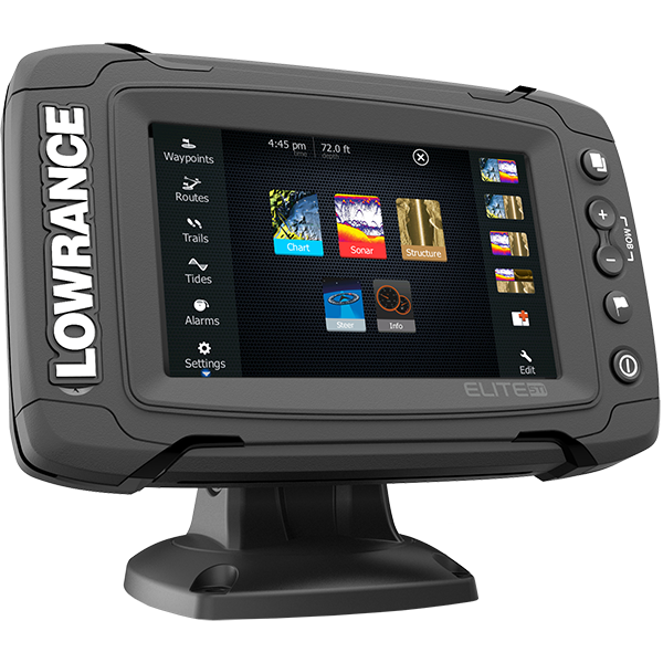 Lowrance Elite-5Ti Mid/High/TotalScan, Lowrance Elite-5 Ti, эхолот Lowrance Elite-5 Ti, картплоттер Lowrance Elite-5 Ti, картплоттер Lowrance