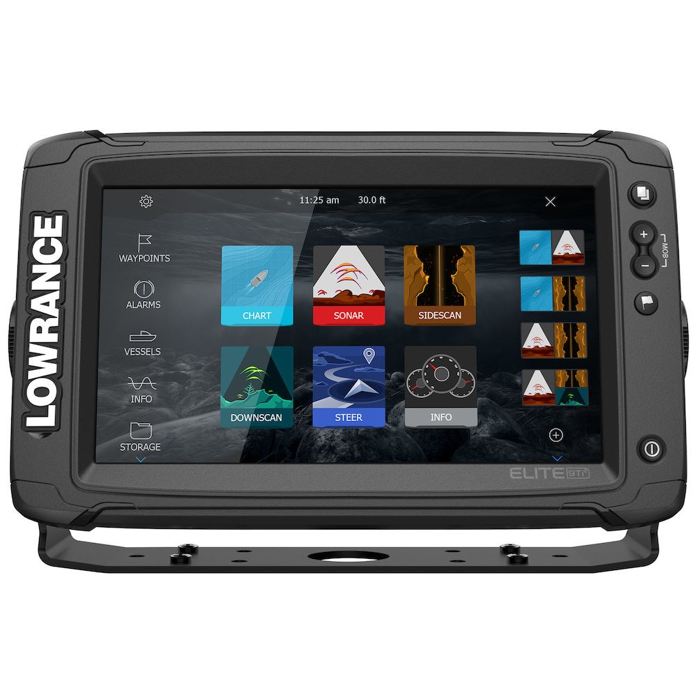 Lowrance ELITE-9 Ti² Active Imaging 3-in-1™, ELITE-9 Ti², эхолот Lowrance ELITE-9 Ti², картплоттер Lowrance ELITE-9 Ti², картплоттер Lowrance
