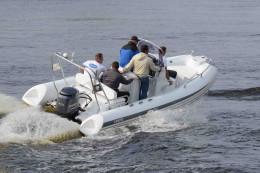 Надувная лодка с жестким дном, RIB, GRAND Silver Line S550CF, GRAND S550CF