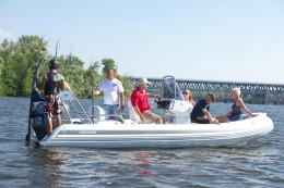 Надувная лодка с жестким дном, RIB, GRAND Silver Line S550LF, GRAND S550LF