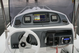 Приборная панель рулевой стойки CL-10 надувной лодки GRAND S550LF или S550CF