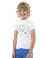 Rashguard Boys JOBE, 544218050, JOBE 544218050, футболка с защитой от ультрафиолета, Гидрофутболка с защитой от ультрафиолета, детская футболка с уф защитой, Футболка с уф защитой, Футболка детская, Гидрофутболка, Гидрофутболка детская, Футболка для купания детская, Футболка для купания, детская гидрофутболка для купания