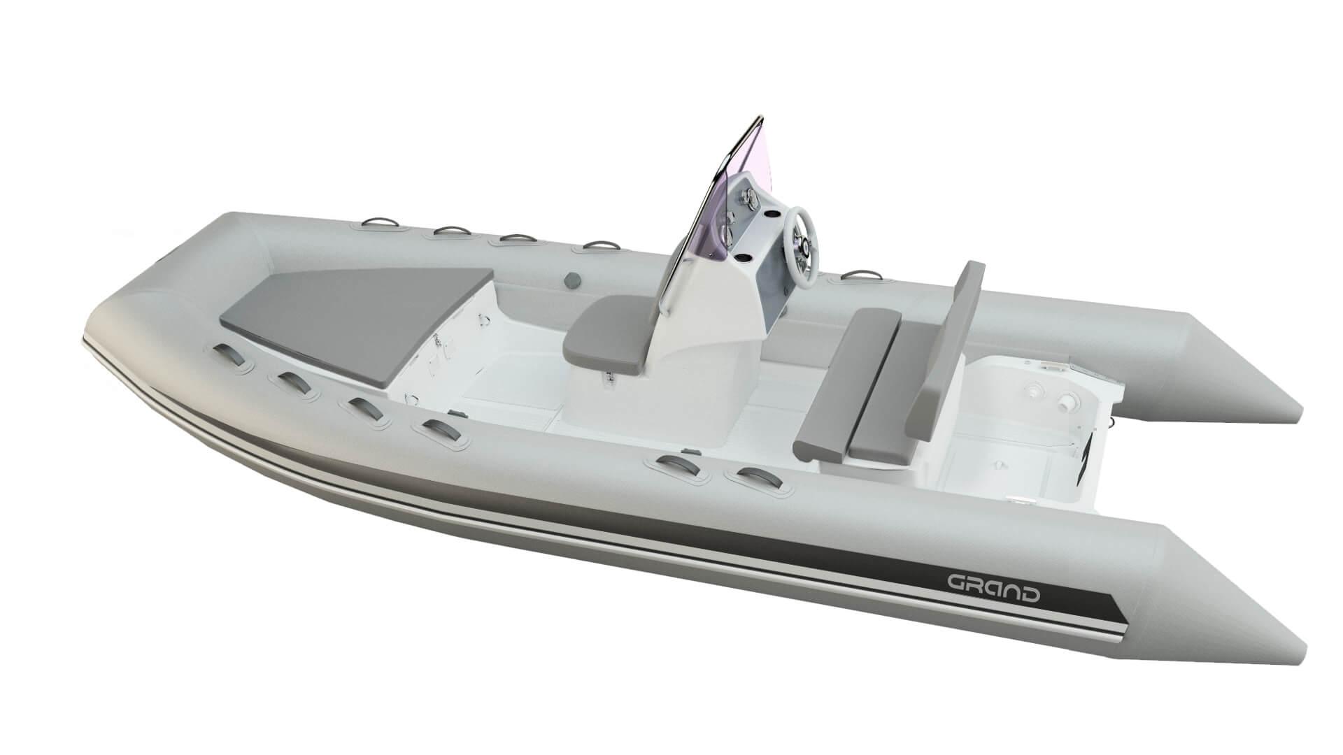 Надувная лодка с жестким дном GRAND Silver Line S520L, Надувная лодка GRAND Silver Line S520LF, GRAND Silver Line S520L, GRAND Silver Line S520LF, GRAND S520L, GRAND S520LF, GRAND S520