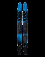 Allegre Combo Skis Blue, Allegre Combo Skis Blue JOBE, 202414005, JOBE 202414005, water skis, water skis Jobe, Водные лыжи, Водные лыжи Jobe, Водные лыжи для новичков, лыжи для среднего уровня, лыжи для среднего уровня катания