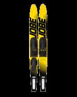 Водные лыжи, Водные лыжи JOBE, Allegre Combo Skis Yellow JOBE, Allegre Combo Skis Yellow, Jobe 202414006