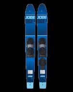 Hemi Combo Skis JOBE, Hemi Combo Waterskis JOBE, 202416001, water skis, water skis Jobe, Водные лыжи, Водные лыжи Jobe, Водные лыжи начального уровня, комбо лыжи, водные комбо лыжи, слаломные лыжи, слаломные лыжи начального уровня