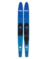 Allegre Combo Skis Blue JOBE, Allegre Combo Waterskis Blue JOBE, 203318001, JOBE 203318001, water skis, water skis Jobe, Водные лыжи, Водные лыжи Jobe, Водные лыжи для новичков, лыжи для среднего уровня, лыжи для среднего уровня катания, лыжи комбо, лыжный слалом, начальный уровень