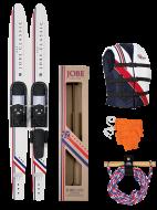 Classic Skis Package ISO JOBE, Classic Package 67'' JOBE, 208813001, JOBE 208813001, Воднолыжный комплект, Воднолыжный комплект Jobe, Водные лыжи, водные лыжи Jobe, Water Ski, Water Ski Package, Водные лыжи для новичков, лыжи для среднего уровня, лыжи для среднего уровня катания, лыжи комбо, лыжный слалом, начальный уровень