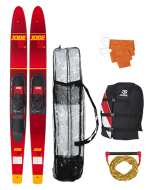 """Allegre 67"""" Combo Waterski Package Red JOBE, 208817004, Воднолыжный комплект, Воднолыжный комплект Jobe, Водные лыжи, водные лыжи Jobe, Water Ski, Water Ski Package, Водные лыжи для новичков, лыжи для среднего уровня, лыжи для среднего уровня катания, лыжи комбо, лыжный слалом, начальный уровень"""