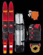 """Allegre 59"""" Combo Waterski Package Red JOBE, 208817005, Воднолыжный комплект, Воднолыжный комплект Jobe, Водные лыжи, водные лыжи Jobe, Water Ski, Water Ski Package, Водные лыжи для новичков, лыжи для среднего уровня, лыжи для среднего уровня катания, лыжи комбо, лыжный слалом, начальный уровень"""