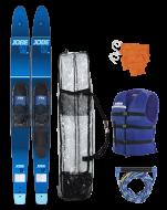 """Allegre 67"""" Combo Waterski Package Blue JOBE, 208817006, Воднолыжный комплект, Воднолыжный комплект Jobe, Водные лыжи, водные лыжи Jobe, Water Ski, Water Ski Package, Водные лыжи для новичков, лыжи для среднего уровня, лыжи для среднего уровня катания, лыжи комбо, лыжный слалом, начальный уровень"""