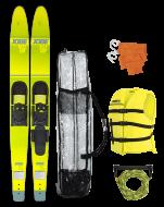 """Allegre 67"""" Combo Skis Yellow Package JOBE, Allegre 67"""" Combo Waterski Package Yellow JOBE, 208817007, Воднолыжный комплект, Воднолыжный комплект Jobe, Водные лыжи, водные лыжи Jobe, Water Ski, Water Ski Package, Водные лыжи для новичков, лыжи для среднего уровня, лыжи для среднего уровня катания, лыжи комбо, лыжный слалом, начальный уровень"""