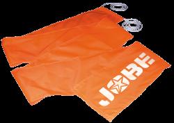 Ski Flag Flame Orange JOBE, Jobe 210305001, 210305001, Яркий флаг для водных видов спорта, флаг для водного спорта