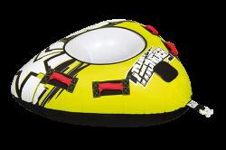 Thunder 1P JOBE, 230116006, Thunder JOBE, Jobe Thunder, Надувной буксируемый водный аттракцион, буксируемый надувной водный аттракцион, надувной водный аттракцион, водный аттракцион, буксируемый водный аттракцион, буксируемый аттракцион, водный аттракцион Jobe, одноместная плюшка, плюшка