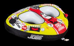 Double Trouble 2P JOBE, Jobe 230214005, 230214005, Double Trouble JOBE, Jobe Double Trouble, Jobe, Надувной буксируемый водный аттракцион, буксируемый надувной водный аттракцион, надувной водный аттракцион, водный аттракцион, буксируемый водный аттракцион, буксируемый аттракцион, водный аттракцион Jobe, двухместная плюшка, плюшка