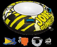 Rumble Package 1P JOBE, Jobe 238814002, 238814002, Rumble Package JOBE, Jobe Rumble Package, Jobe, Надувной буксируемый водный аттракцион, буксируемый надувной водный аттракцион, надувной водный аттракцион, водный аттракцион, буксируемый водный аттракцион, буксируемый аттракцион, водный аттракцион Jobe, одноместная плюшка, плюшка, Надувной буксируемый водный аттракцион комплект