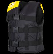 Progress Nylon Vest Youth Yellow JOBE, 244813010, Жилет страховочный детский, Жилет страховочный, Жилет спасательный подростковый, Жилет страховочный подростковый