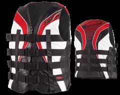 Progress 4 Buckle Vest Red JOBE, 244815013, Жилет спасательный унисекс, Жилет страховочный unisex, Жилет страховочный, Жилет спасательный