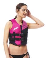 Nylon Vest Women Pink JOBE, 244817270, Жилет страховочный женский, Жилет страховочный, Жилет спасательный