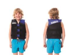 Nylon Vest Youth Blue JOBE, 244817370, Жилет страховочный детский, Жилет страховочный, Жилет спасательный подростковый, Жилет страховочный подростковый