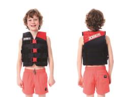 Nylon Vest Youth Red JOBE, 244817371, Жилет страховочный детский, Жилет страховочный, Жилет спасательный подростковый, Жилет страховочный подростковый