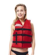 Universal Vest Red JOBE, 244817578, Жилет спасательный унисекс, Жилет страховочный unisex, Жилет страховочный, Жилет спасательный