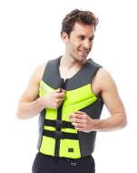 Segmented Vest Men Lime JOBE, 244917104, Жилет страховочный мужской, Жилет страховочный, Жилет спасательный