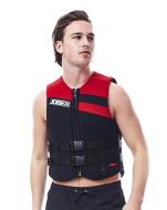 Neoprene Vest Men Red JOBE, 244917105, Жилет страховочный мужской, Жилет страховочный, Жилет спасательный