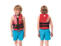 Neoprene Vest Youth Red JOBE, 244917303, Жилет страховочный детский, Жилет страховочный, Жилет спасательный подростковый, Жилет страховочный подростковый