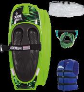 Streak Kneeboard Green Package JOBE, Jobe 258817002, 258817002, Ниборд, коленный вейкборд, ниборд JOBE, kneeboards, kneeboards jobe, коленный вейкборд, коленный вейк, доска для катания на коленях, ниборд в комплекте