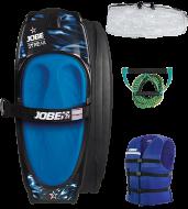 Streak Kneeboard Blue Package JOBE, Jobe 258817003, Streak Kneeboard, Ниборд, коленный вейкборд, ниборд JOBE, kneeboards, kneeboards jobe, коленный вейкборд, коленный вейк, доска для катания на коленях, ниборд в комплекте