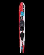 Hemi Slalom Water Ski 65 JOBE, 262413002, Jobe 262413002, Слаломная водная монолыжа, Слаломная водная лыжа, Слаломные водные лыжи, водная монолыжа, монолыжа, монолыжа Jobe, water skis, water skis Jobe, монолыжа начального уровня, , монолыжа начального уровня