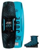 Knox Premium 139 & EVO Set JOBE, Knox Premium Evo Set 139 JOBE, Knox Premium Evo Set 143 JOBE, Knox Premium Evo Set JOBE, Knox Premium JOBE, 278818001 JOBE, 278818001, 278818002, доска, вейкборд, вейк, доска для вейкбординга, доска для катания, Wake, Wakeboard, вейк с креплением