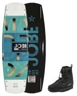 Maddox Premium 138 & Nitro Set JOBE, Maddox Premium Nitro Set 138 JOBE, Maddox Premium Nitro Set 143 JOBE, Maddox Wakeboard Premium Set JOBE, Maddox Wakeboard Premium JOBE, 278818010 JOBE, 278818010, 278818011, доска, вейкборд, вейк, доска для вейкбординга, доска для катания, Wake, Wakeboard, вейк с креплением