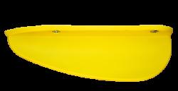 Fin Trainer High Incl. Screws JOBE, Jobe 350210001, 350210001, Плавник для водных лыж, киль для водных лыж, пластиковый киль для лыж, киль для лыж