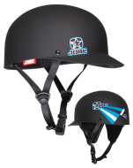 Stripes Helmet Black Rubber JOBE, Helmet Stripes Black Matte JOBE, 370811002, JOBE 370811002, Шлем для водных видов спорта, шлем для гидроцикла, шлем для гидры, шлем для вейка, шлем для водного спорта, шлем для вейкборда, шлем, helmet, шлем JOBE, шлем для водных лыж, шлем для рафтинга, защитный шлем