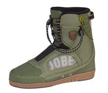 EVO Sneakers Morph Green JOBE, EVO Morph Sneaker JOBE, JOBE 396817004, 396817004, EVO Morph Sneaker, ботинки для вейкборда серии EVO, крепления для вейка EVO, Крепления для вейкборда, крепление для вейка