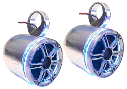 Bullet Speakers JOBE, 405617001, Акустическая система, морская акустическая система, акустическая система для лодки, акустическая система для катера