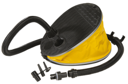 Foot Pump with Halkey Roberts Nozzle JOBE, Foot Pump JOBE, Foot Pump, 410805001, JOBE 410805001, 410017101, JOBE 410017101, Воздушный насос для водных аттракционов, Воздушный насос, насос для водных аттракционов, Воздушный насос для надувных лодок, ножной насос