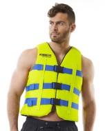 Heavy Duty Vest Yellow JOBE, Vest Yellow JOBE, 442418003, JOBE 442418003, Жилет спасательный унисекс, Жилет страховочный unisex, Жилет страховочный, Жилет спасательный, спасательный жилет для коммерческого использования