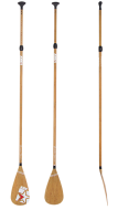 SUP Paddle Bamboo Classic JOBE, JOBE 486717421, 486717421, Paddle SUP JOBE, SUP Paddle, SUP, все для SUP, весло, весло для SUP, весло не тонет, весло из стекловолокна