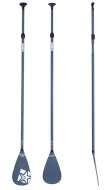 SUP Paddle Fiberglass 3pc Vintage Blue JOBE, JOBE 486717411, 486717411, Paddle SUP JOBE, SUP Paddle, SUP, все для SUP, весло, весло для SUP, весло не тонет, весло из стекловолокна