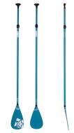 SUP Paddle Fiberglass 3pc Blue JOBE, JOBE 486717413, 486717413, Paddle SUP JOBE, SUP Paddle, SUP, все для SUP, весло, весло для SUP, весло не тонет, весло из стекловолокна