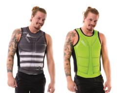 Reversible Comp Vest Men Lime Green|Black JOBE, 554018004, JOBE 554018004, Жилет страховочный мужской, Жилет страховочный, Жилет спасательный, водный жилет, двухсторонний страховочный жилет, страховочный жилет двухсторонний