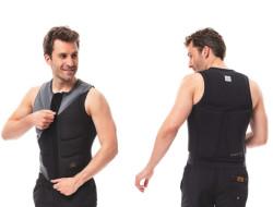 Comp Vest Zipper Men Graphite Grey JOBE, Vest Men JOBE, 554018007, JOBE 554018007, Жилет страховочный мужской, Жилет страховочный, Жилет спасательный, водный жилет